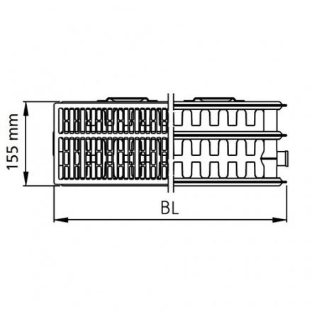 Радиатор стальной Kermi Kompakt 33500400