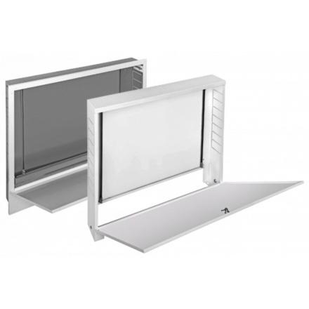 Шкаф коллекторный Wester ШРВ-3 670х122х744