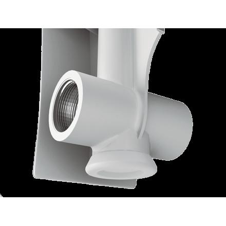 Радиатор алюминиевый Роял Термо осевое сечение 500