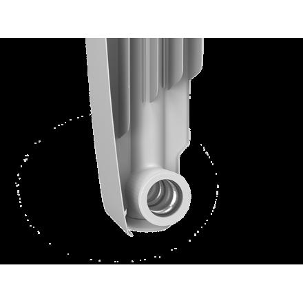 Радиатор алюминиевый Royal Thermo Revolution 500 боковое подключение