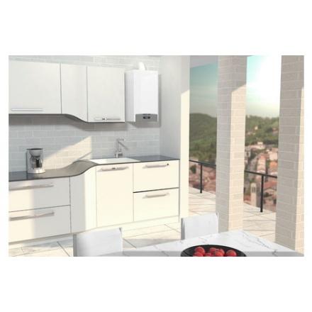 Котел Ariston CLAS X System 28 FF NG на кухне
