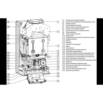 Газовый котел Bosch GAZ 4000 W ZSA 24-2 K