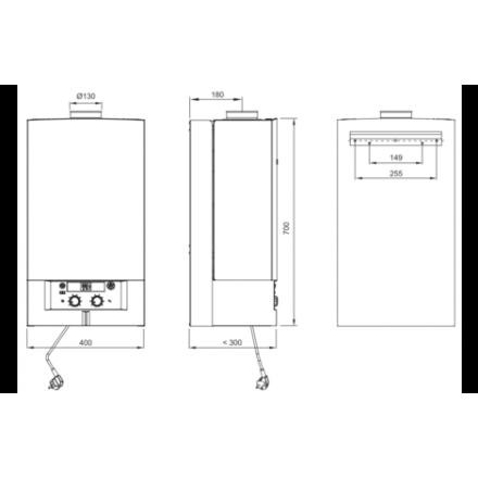Газовый котел Bosch GAZ 4000 W ZWA 24-2 A