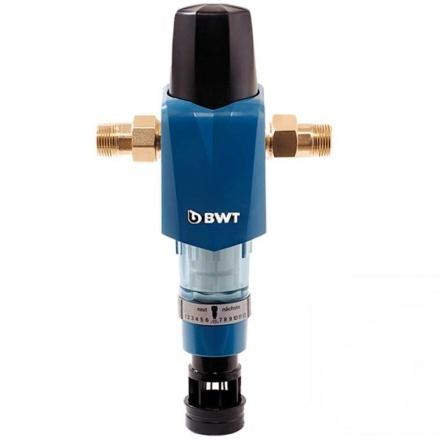 Фильтр с ручной обратной промывкой BWT F1 1'' (вкл. гидром.)