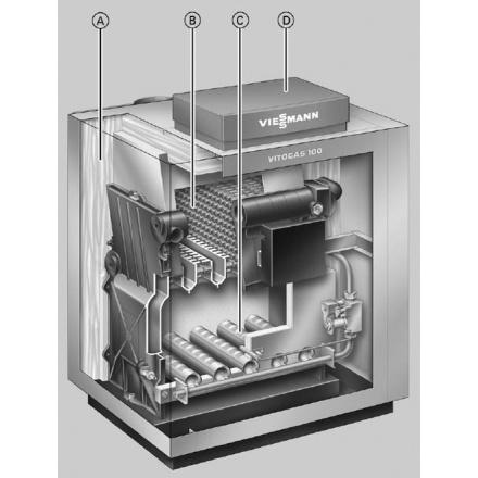 Газовый котел Viessmann Vitogas 100-F 48
