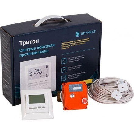 Система контроля протечки воды ТРИТОН 1 1/4 дюйма, 1 кран