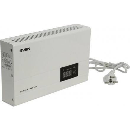 Стабилизатор напряжения Свен SLIM-500 LCD