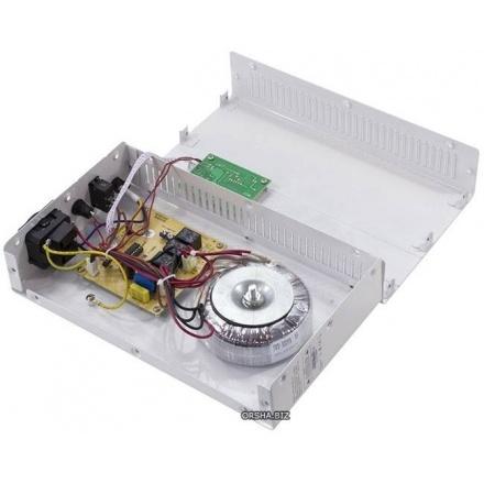 Комплект стабилизатор напряжения SVEN SLIM-500 LCD