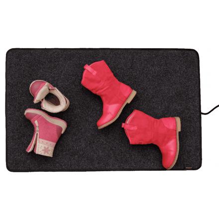 Мобильный нагревательный коврик Теплолюкс-carpet сушит обувь
