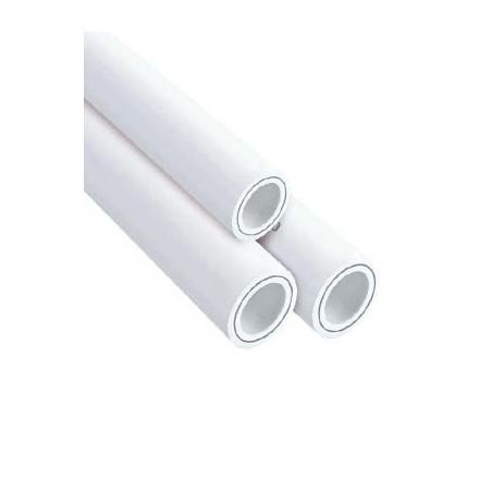 Полипропиленовая труба 32 со стекловолокном белая