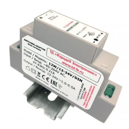 Импульсный блок питания ZONT 12W/12-24V/DIN