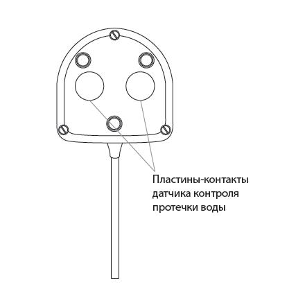Датчик контроля протечки воды SW005-10,0 схема