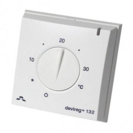 Терморегулятор Devireg 132 с датчиком пола и воздуха