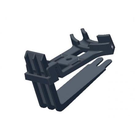 Крепление пластиковое Deviclip Guardhook для монтажа кабеля на краях и поверхности кровли