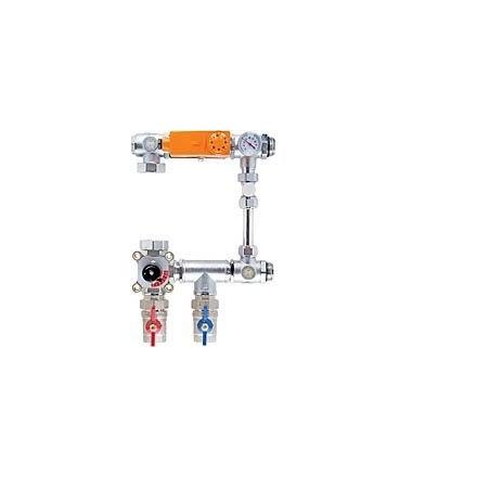Насосно-смесительный узел Profactor с защитой от перегрева для коллекторных систем