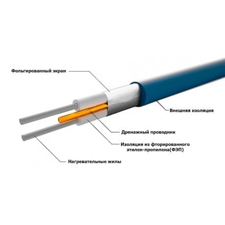 Нагревательный кабель Grand Meyer THC20-45