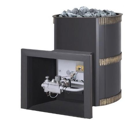 Печь газодровяная для бани Везувий Лава 18 (ДТ-3)
