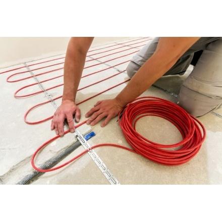 Двужильный нагревательный кабель Warmstad WSS 6 м/110 Вт