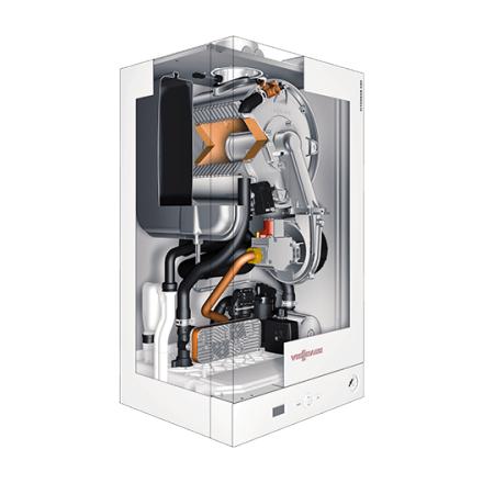 Конденсационный котел Viessmann Vitodens 50-W BPJD 24 кВт двухконтурный