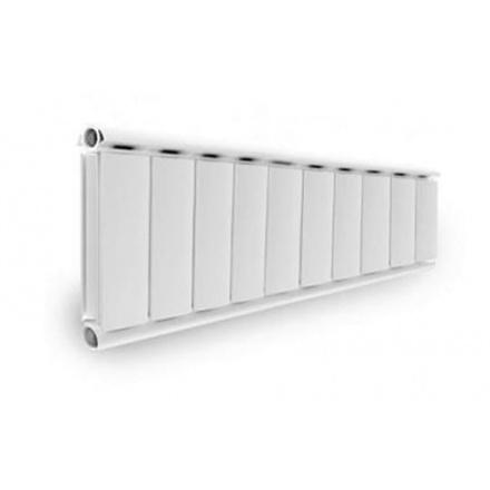Алюминиевый дизайн радиатор SILVER S 300 (6 секций) нижнее подключение