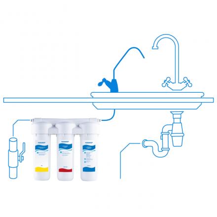 Фильтр для воды Аквафор ТРИО-НОРМА умягчающий