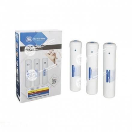 Комплект 3х картриджей Aquafilter EXCITO-HF-CRT