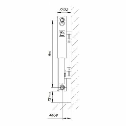 Радиатор стальной LEMAX Compact 11500700