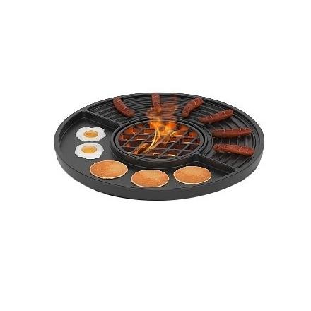 Чугунная плита Везувий Gurman Ø450