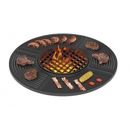 Чугунная плита Везувий Gurman Ø700
