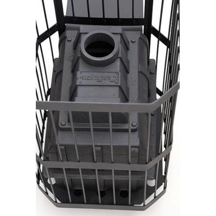 Печь банная чугунная CИБИРЬ-24 чугунная дверка (сетка)