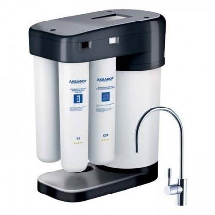 Автомат питьевой воды Аквафор DWM-102-12М-S4 (черный)