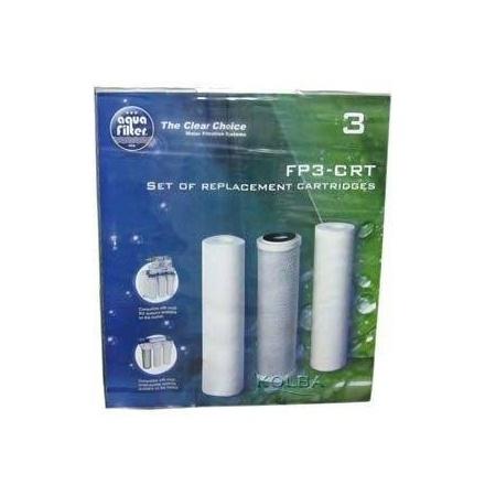 Комплект 3х картриджей для Aquafilter FP3-CRT