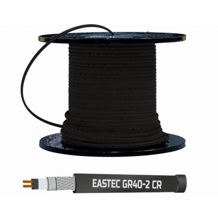 Кабель греющий EASTEC GR 40-2 CR с УФ защитой
