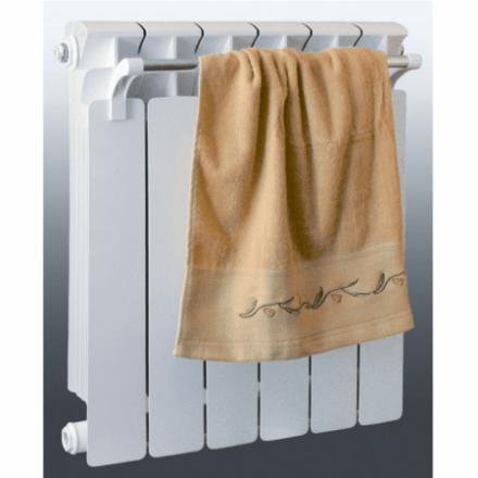 Радиатор алюминиевый Rifar Alum 500 с полотенцем