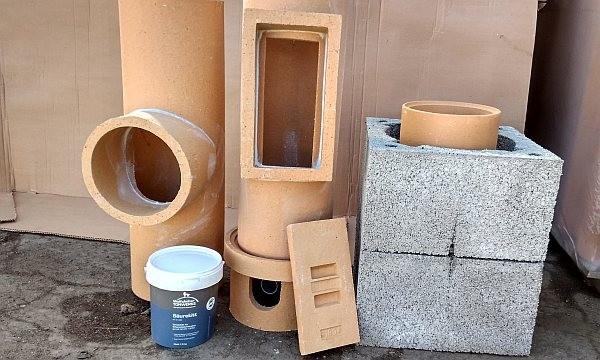 Дымоходная труба из керамики