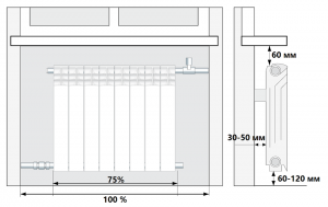 конструкция радиатора Standard Hidravlika Economic