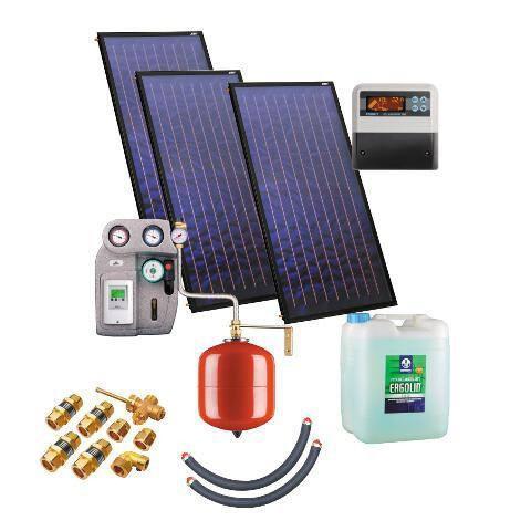 Солнечная водонагревательная установка Kospel ZSH.A-3X2,3/400