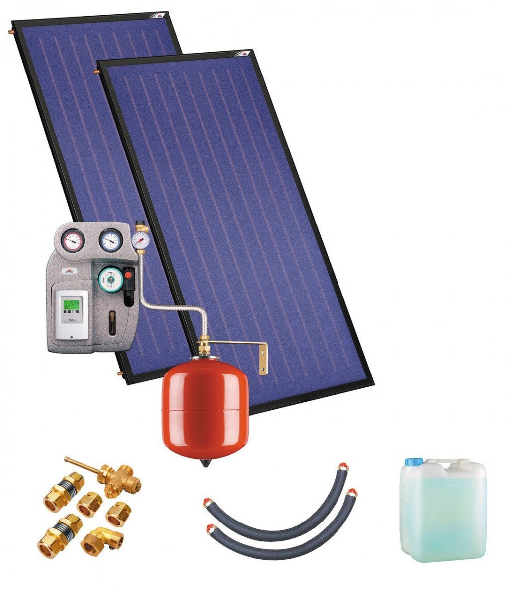 Солнечная водонагревательная установка Kospel ZSH-2 duoSOL
