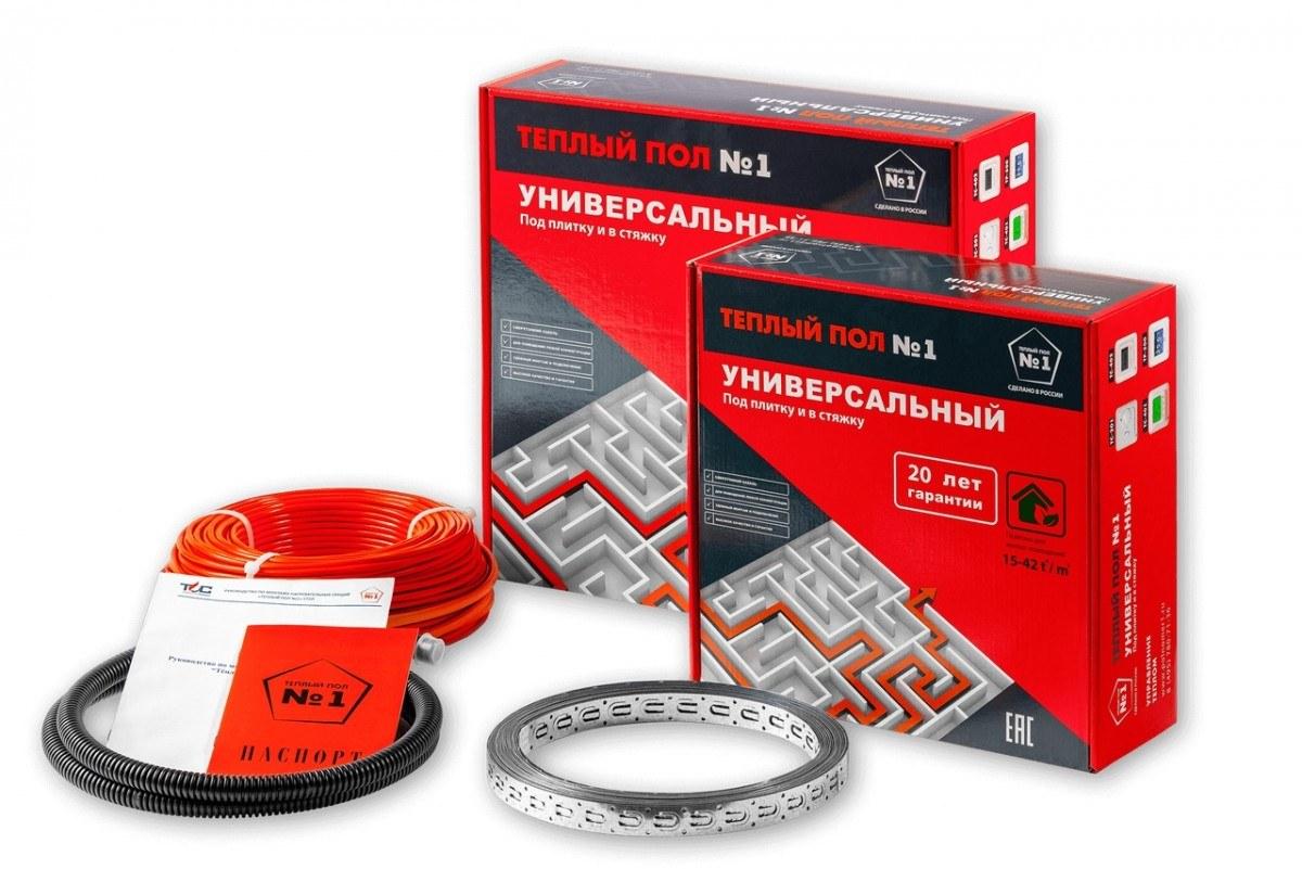 Нагревательный кабель под плитку и в стяжку Теплый пол №1 СТСП-450