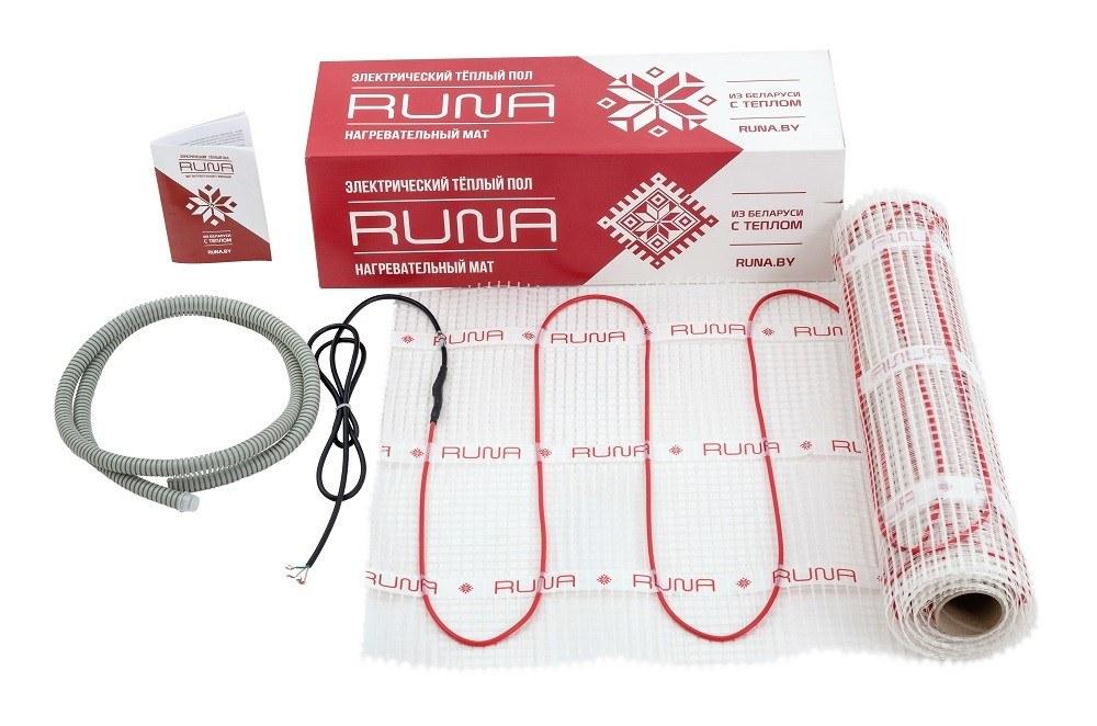 Нагревательный мат RUNA LTL-C 4/600-PR
