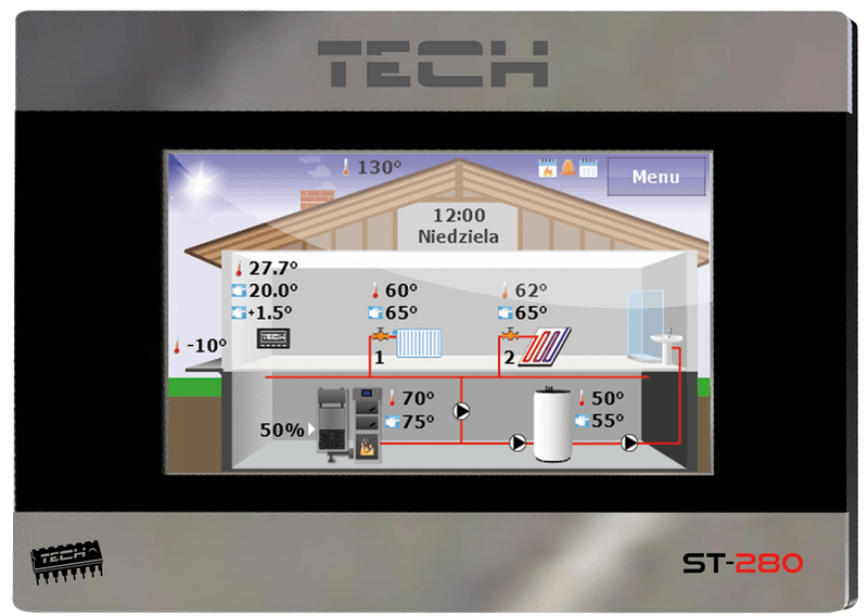 Терморегулятор Tech ST-280 RS
