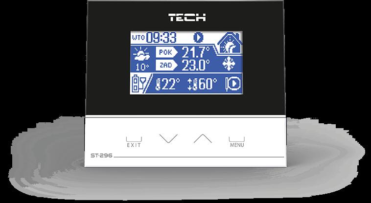 Терморегулятор Tech ST-296 RS