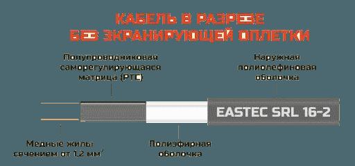Кабель саморегулирующийся EASTEC SRL 30-2
