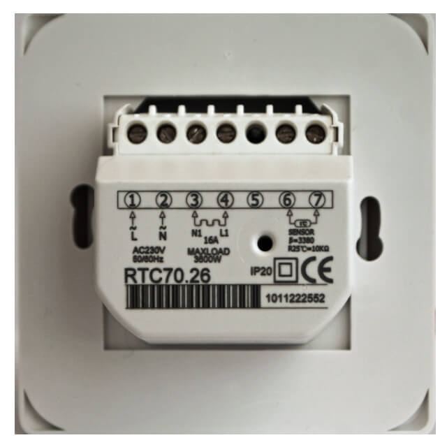 характеристики Терморегулятор EASTEC RTC 70.26