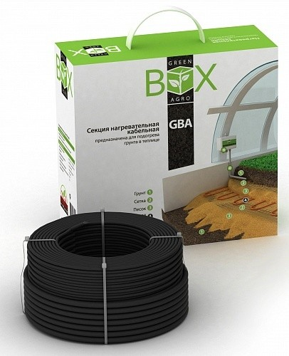 Комплект для обогрева грунта GREEN BOX AGRO 14GBA-400