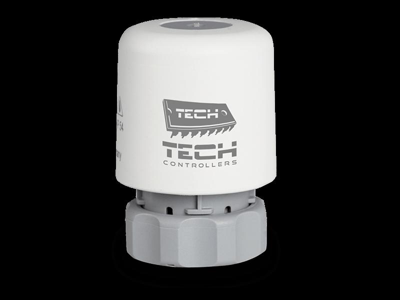 Термоэлектрический привод Tech STT-230/2 M28x1,5